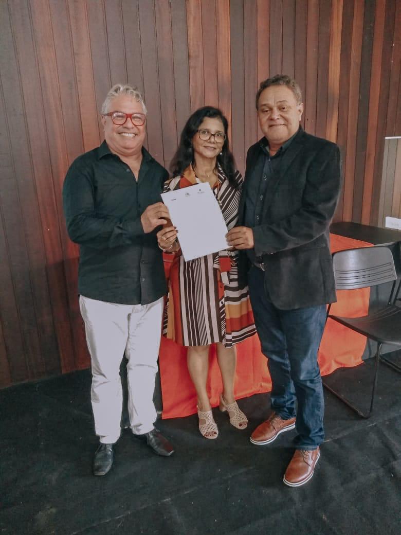 evento de assinatura do termo de compromisso para a Formação Continuada dos professores da rede municipal e Estadual do Maranhão
