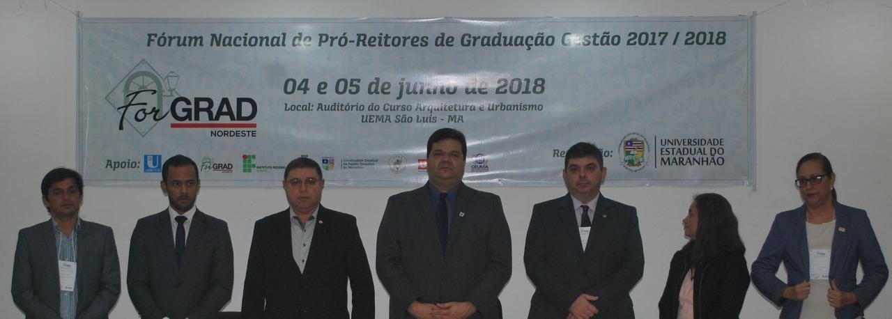 PRESIDENTE DA UNDIME/MA PARTICIPA DA ABERTURA DO FORGRAD NORDESTE