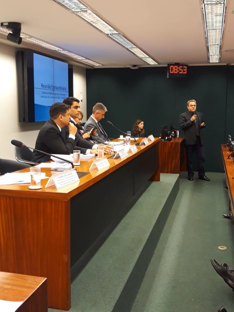 JOAQUIM NETO – VICE PRESIDENTE DA UNDIME/MA PARTICIPA DE AUDIÊNCIA PUBLICA EM BRASILIA SOBRE PRECATORIOS DO FUNDEF